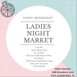 Ladies Night Sip & Shop @ Wine + Garden
