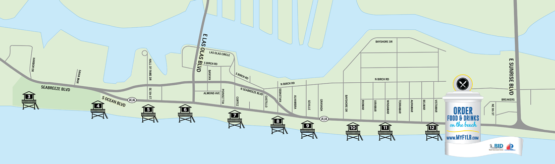 lifeguard station map