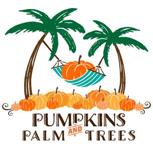 Pumpkins & Palm Trees @ Las Olas Oceanside Park