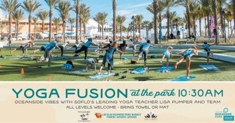 LOOP Yoga Fusion @ Las Olas Oceanside Park