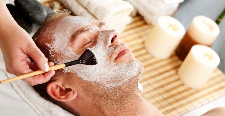 mens facial heavenly spa