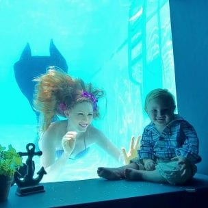 fathers day mermaid brunch
