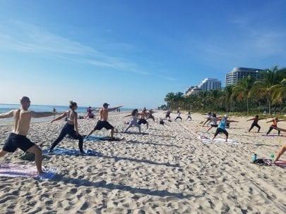 Friday Beach Yoga Ft Lauderale @ Lisa Pumper- Ft. Lauderdale Beach Yoga & Fitmess