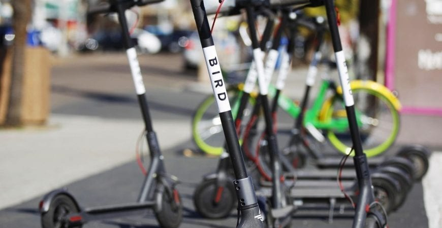 dockless scooters banned from Fort Lauderdale Beach in March and April