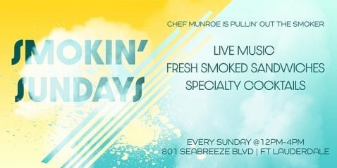 Smokin' Sunday's @ Bahia Mar Fort Lauderdale