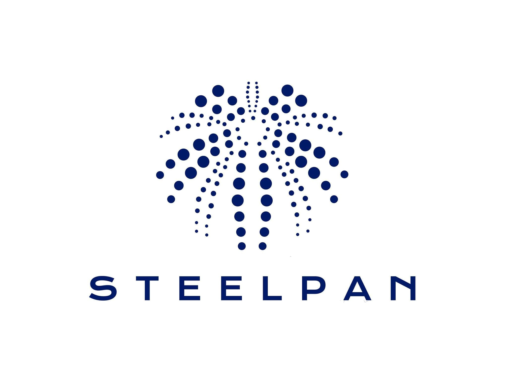 steel pan logo dine out