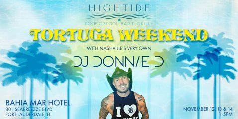 DJ Donnie at Bahia Mar @ Bahia Mar Fort Lauderdale Beach