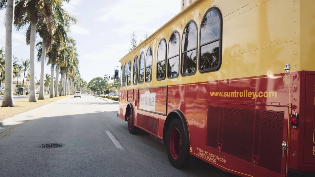 Sun Trolley Transitions to Fixed Bus Stops; Permanent Fare Elimination