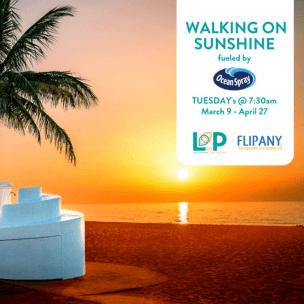 Walking on Sunshine @ Las Olas Oceanside Park