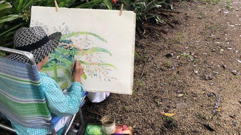Watercolor Mini Workshop @ Bonnet House Museum & Gardens