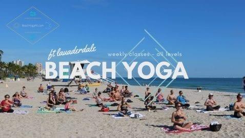 Beach Yoga - All Levels @ Fort Lauderdale Beach