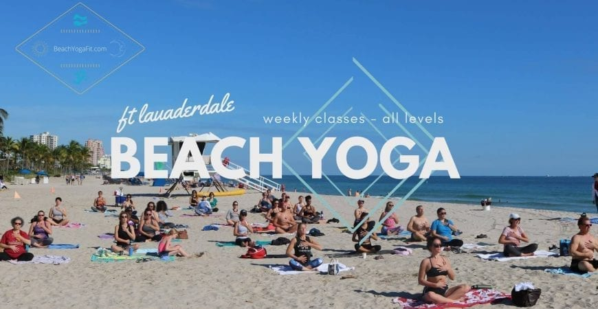 wednesday yoga by donation fort lauderdale beach