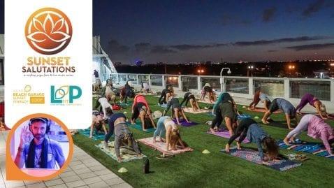 Sunset Salutations @ Las Olas Beach Garage | Sunset Terrace | Fort Lauderdale | Florida | United States